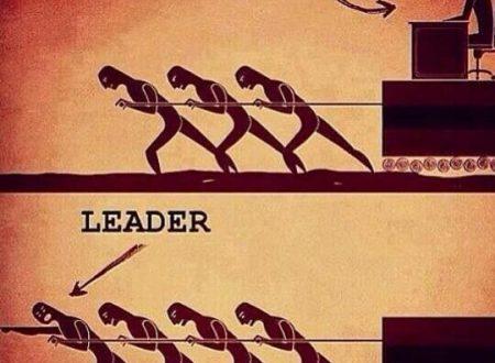 Differenza tra un leader ed un capobranco.